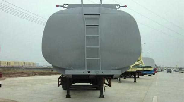 12.9米39.6立方化工液体运油半挂车
