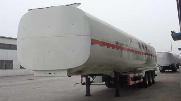 13米50立方易燃液体罐式运输半挂车