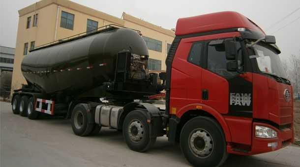 73立方粉粒物料运输半挂车 13米