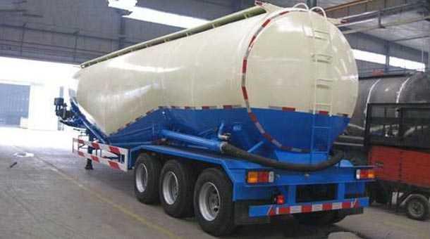 中密度粉粒物料运输半挂车 10.2米 40立方