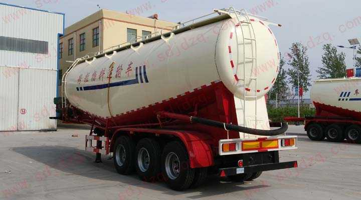 低密度粉粒物料运输半挂车 10.7米 45立方