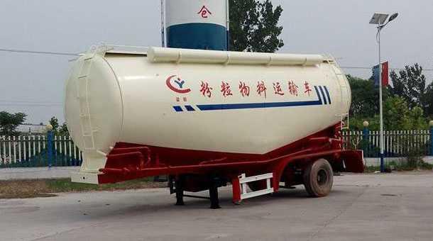 10米散装水泥运输半挂车 31.5立方