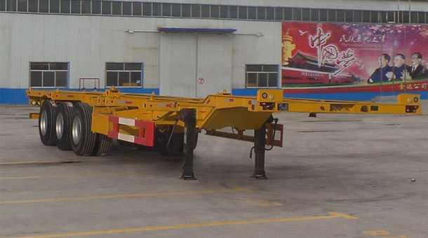 12.6米鹅颈集装箱运输半挂车 (40英尺集装箱)