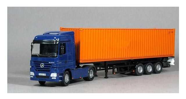 9.6米集装箱运输半挂车 (30英尺集装箱)