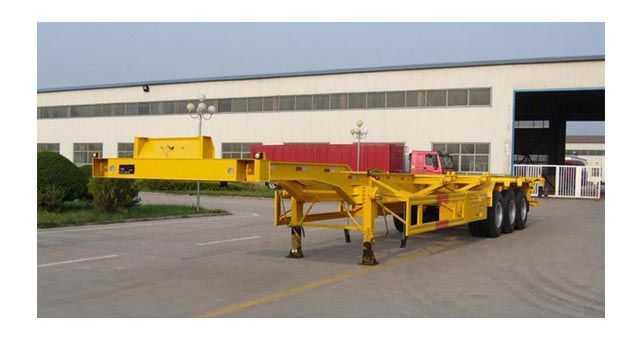 12.5米鹅颈集装箱运输半挂车 (40英尺集装箱)
