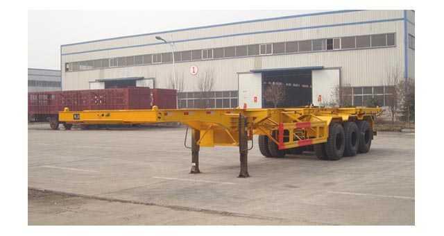 12.4米集装箱运输半挂车(40英尺集装箱)