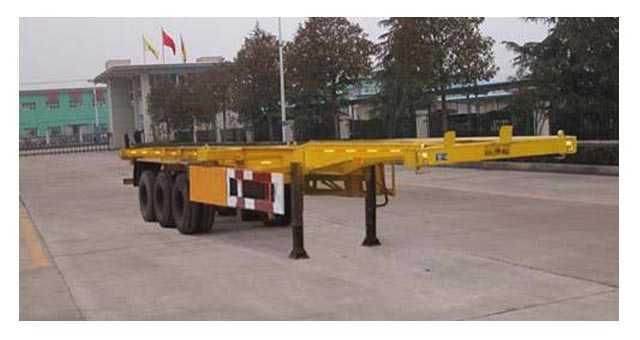 10.5米30英尺集装箱骨架车
