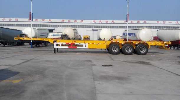 14.98米53英尺集装箱骨架车