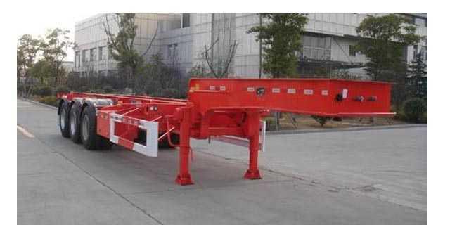14米框架式集装箱运输半挂车 (45英尺集装箱)