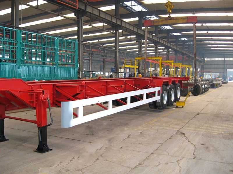 16.5米53英尺集装箱骨架车