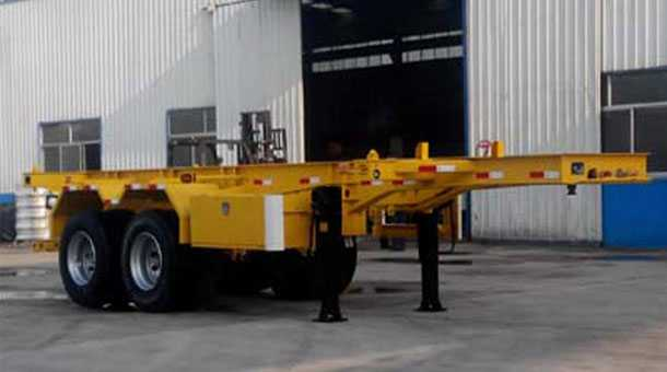 7.38米集装箱运输半挂车 (20英尺集装箱)