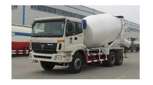 4.96立方混凝土搅拌运输车