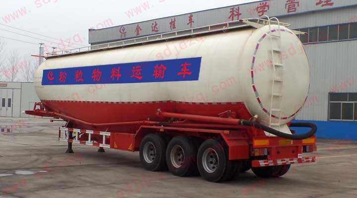 70立方粉粒物料运输半挂车