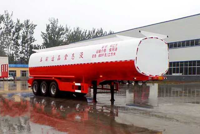 13米42立方液态食品运输半挂车