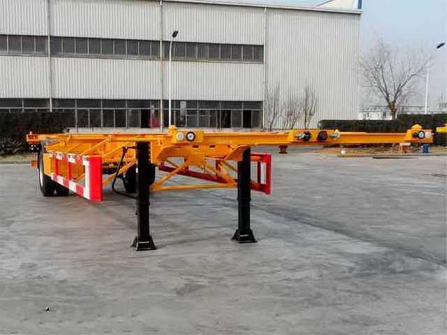 12.4米40英尺空载集装箱骨架车