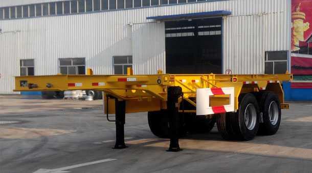 7.32米集装箱运输半挂车  (20英尺集装箱)