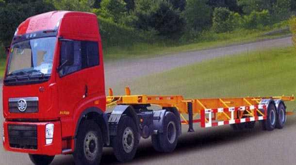 12.45米集装箱运输半挂车 (40英尺集装箱)