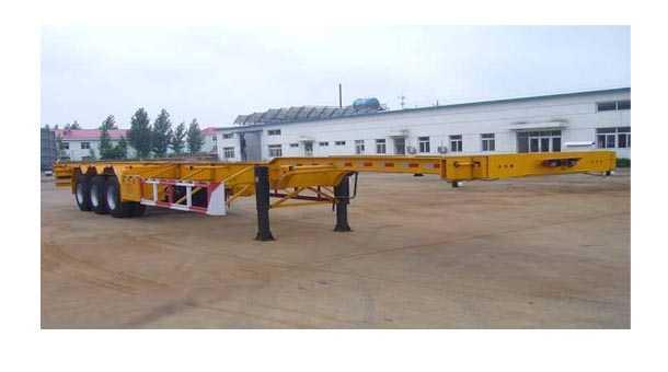 12.51米集装箱运输半挂车 (40英尺集装箱)