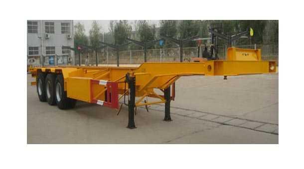 12.4米集装箱运输半挂车 (40英尺集装箱)