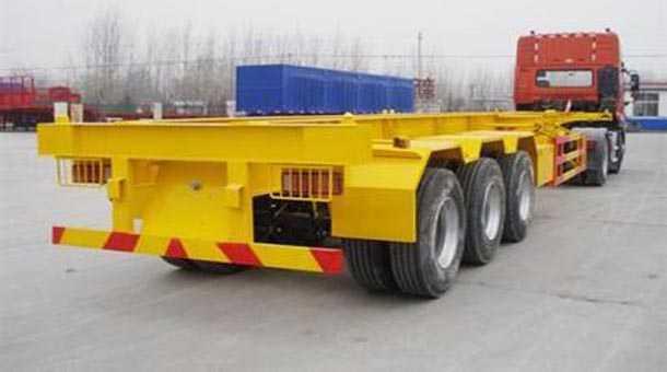 12.4米40英尺集装箱骨架车