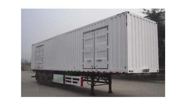 11米3轴厢式半挂车 33吨