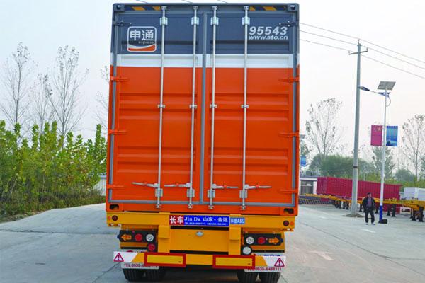15米 集装箱运输半挂车 48英尺集装箱