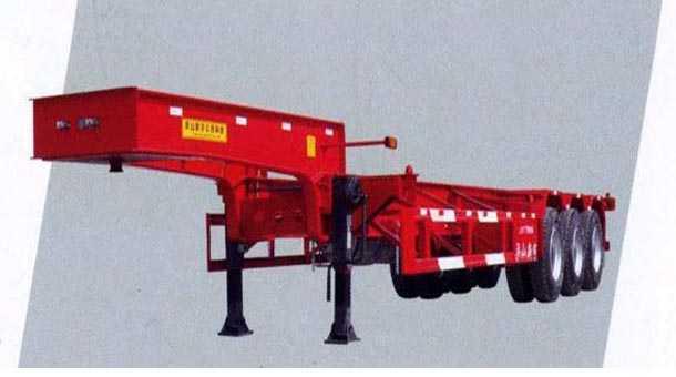 12.45米集装箱半挂车  (40英尺集装箱)