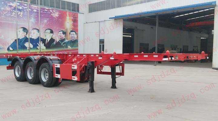 10.4 集装箱运输半挂车(30英尺)