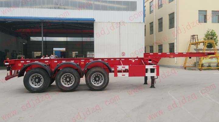 10.8米集装箱运输半挂车(20英尺)
