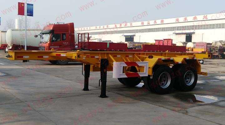 7.6集装箱运输半挂车(20英尺)