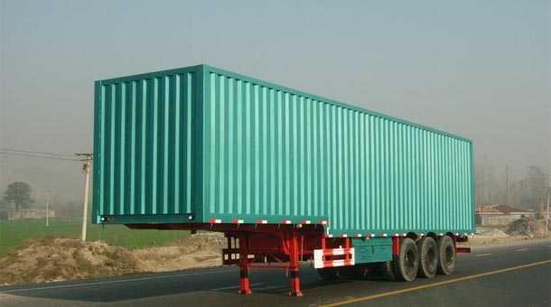 14.6米厢式运输半挂车