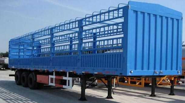 12米仓栅式运输半挂车