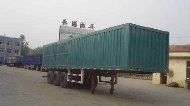 11米厢式运输半挂车