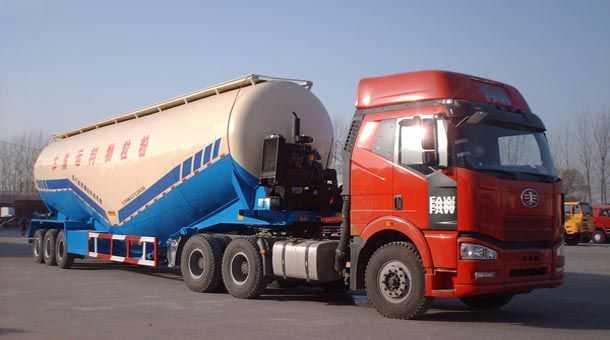 13米水泥散装罐半挂车73立方