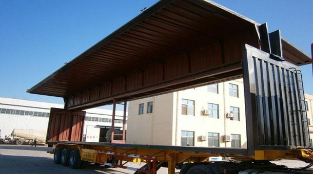 14.6米三桥翼开启厢式半挂车