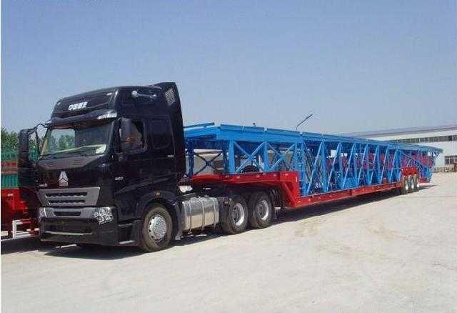 14.5米车辆运输半挂车