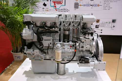 潍柴WP13发动机