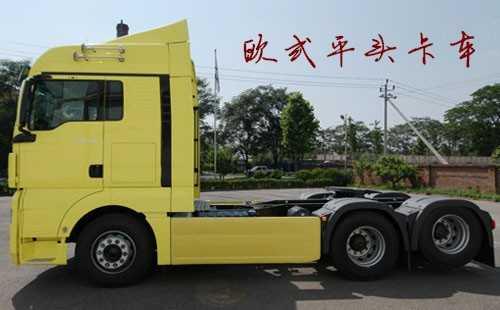 欧式平头卡车