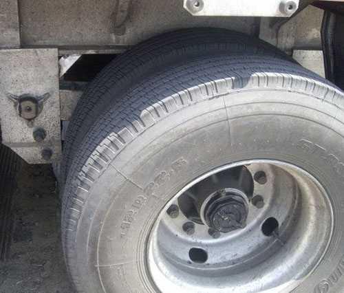 铝挂车轮胎