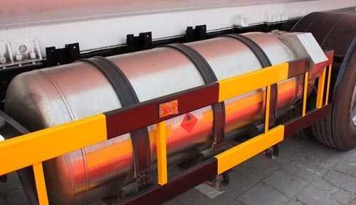 天然气运输车燃料罐