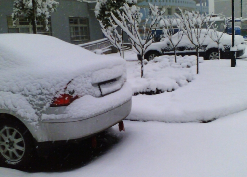 天冷如何热车