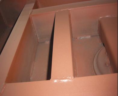 牵引横梁焊缝