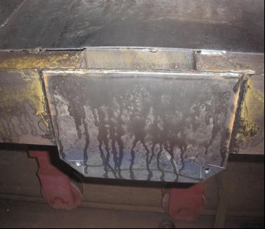皮堆板焊接