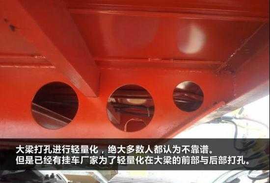 安全性很重要这样的挂车轻量化要不得