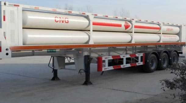 8管液压子站高压气体长管半挂车