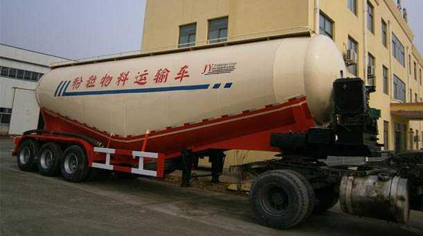 粉粒物料运输半挂车 13米 60立方