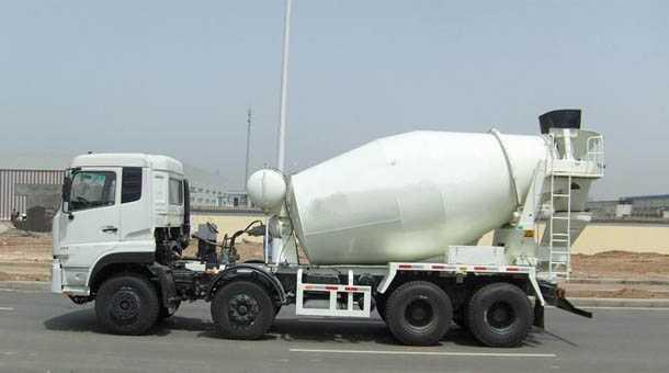7.2立方混凝土搅拌运输车