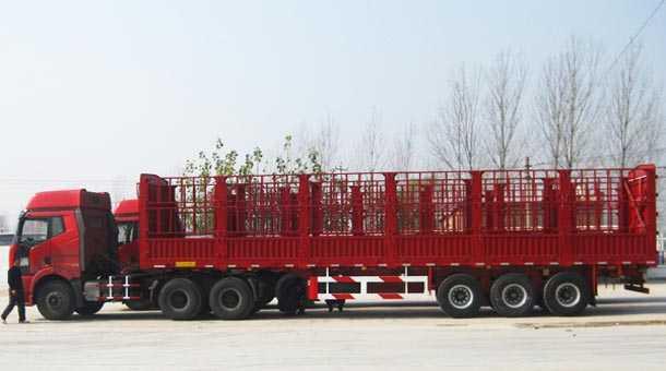 11.5米仓栏式运输半挂车
