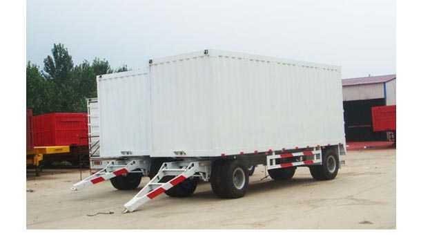 5.4米箱式全挂车