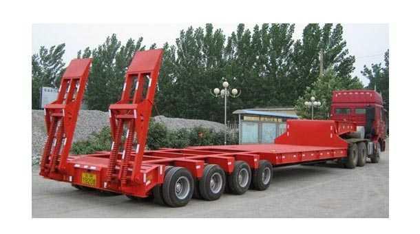 16米平板运输半挂车